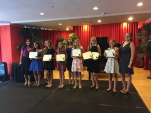 MCofM Voice Honor Roll examination