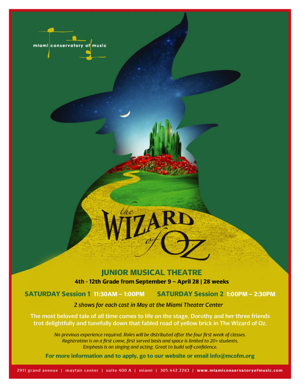 Wizard of Oz | Junior Musical Theatre