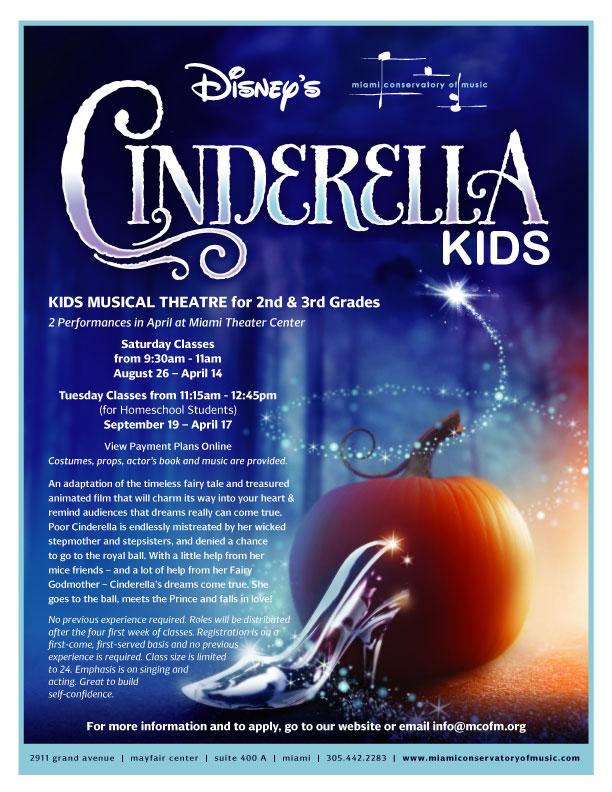 Cinderella Kids | Kids Musical Theatre