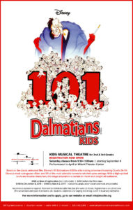 Kids Musical Theatre for 2nd & 3rd grade - 101 Dalmatians