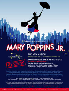 Junior Musical Theatre for grades 4th-8th - Mary Poppins