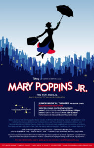 Junior I Musical Theatre for 4th & 5th grade - Mary Poppins