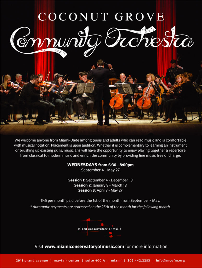 Coconut Grove Community Orchestra