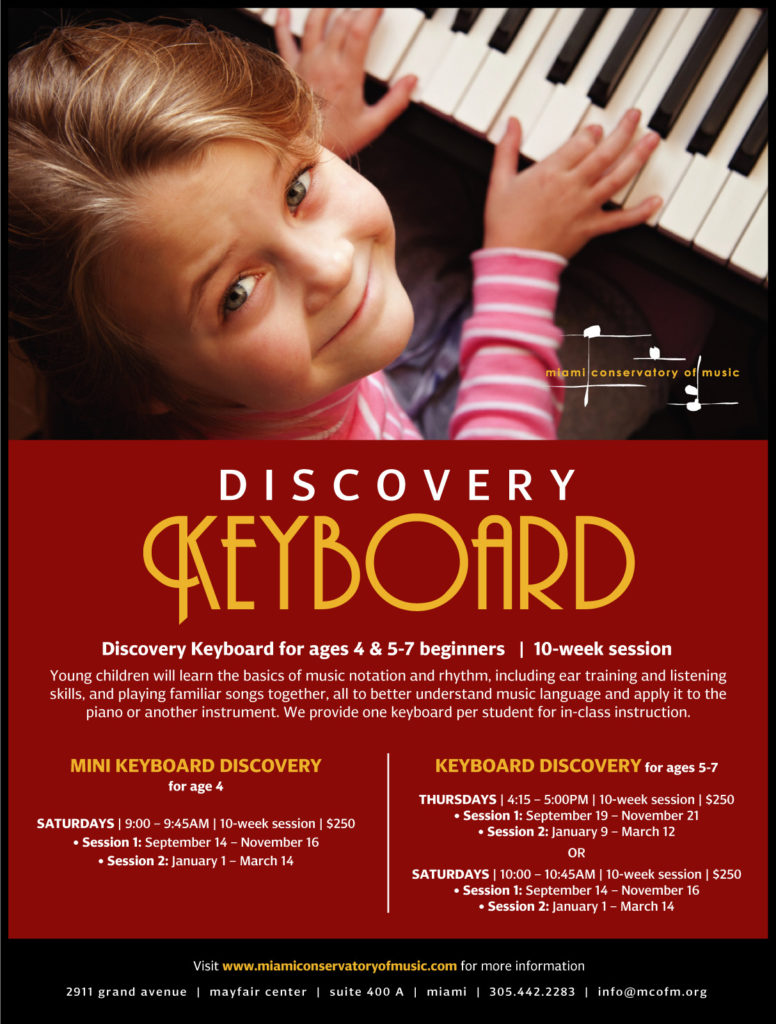 Discovery Keyboard for age 4