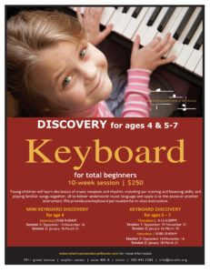 Discovery Keyboard for ages 5-7