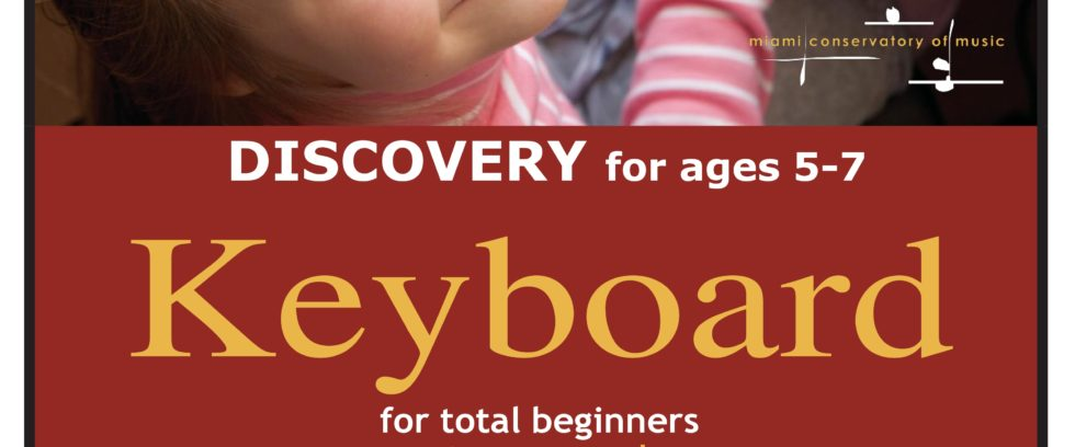 Discovery Keyboard for ages 5 – 7 | 8 -week session – CANCELED!